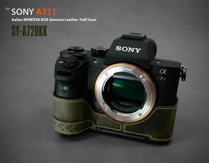 [Sony A7-II] Dovetail Half Case / SY-A72DKK
