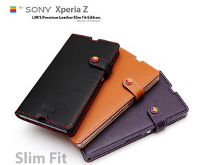 [XperiaZ]LIMS Premium Leather SlimFit Edition