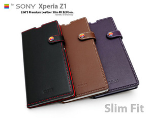 [Xperia Z1] LIMS Premium Leather SlimFit Edition