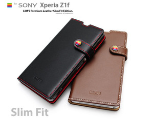 [Xperia Z1f] LIMS Premium Leather SlimFit Edition