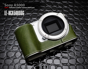 [LE-HCA5000OG] for Sony A5000 Half Case