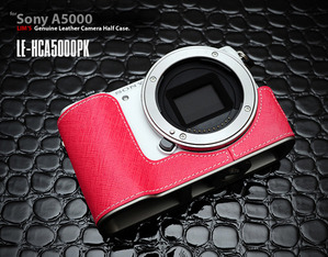 [LE-HCA5000PK] for Sony A5000 Half Case