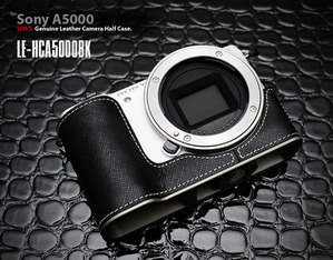 [LE-HCA5000BK] for Sony A5000 Half Case