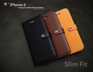 [iPhone 6] Premium Leather SlimFit Edition